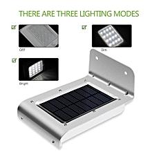 16 LED Solar Light Outdoor Garden Security Wall Lamp Motion Sensor Waterproof Heatproof LED Lights Energy 100 LM