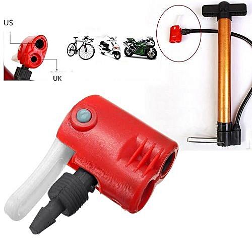 Buy Generic Bicycle Bike Cycle Tyre Tube Replacement Dual Head Air