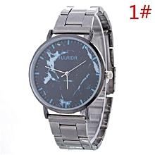 Women Retro Alloy Steel Bracelet Watch Watches Star Pattern Fashion Table A