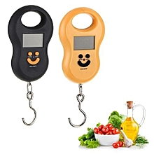 Electronic Portable Weighing Scale - Black