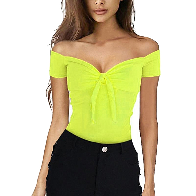 4a321ac7e3fb3b Hiamok Fashion Women Sexy Casual Off Shoulder Tank Top Vest Blouse Crop  Tops Shirt