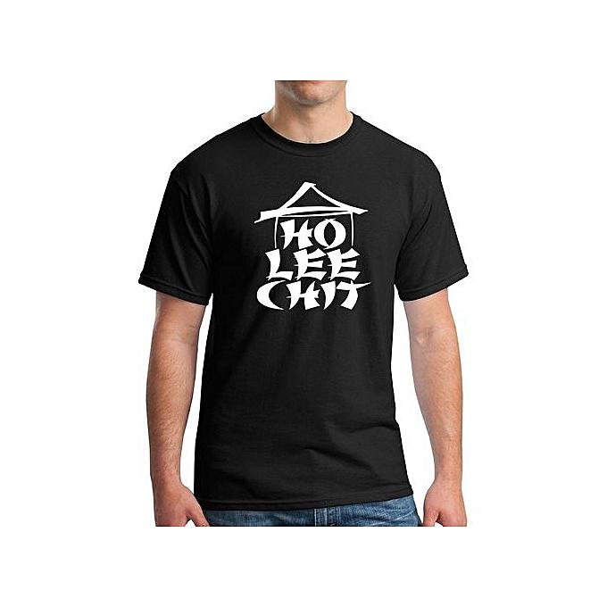 b1b6ae1d Fashion Ho Lee Chit Funny Graphic Holy Sh!t T-Shirt Men's Cotton T ...