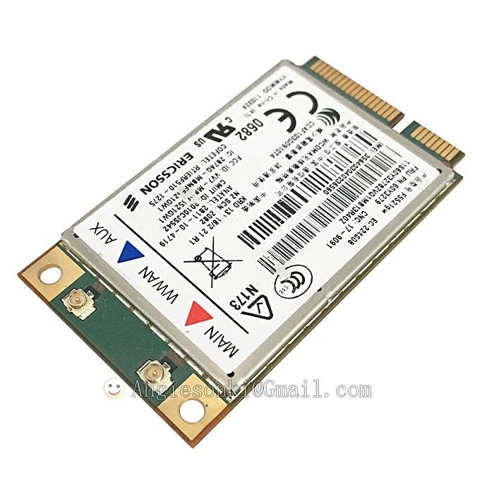 F5521GW 60Y3279 04W3767 21Mbps HSPA+ 3G WWAN Card for Thinkpad Lenovo E420  T520 W520 X220 T420 X1 L420 L421 L520 T420i
