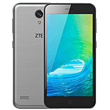 Blade A520 5-inch (1GB, 8GB ROM) Android 6.0, 8MP + 2MP, 2400mAh, Dual Sim 4G LTE Smartphone - Grey