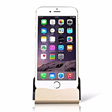 Charger Dock Stand Micro USB Desktop Stand Station Cradle  For IPhone X 8 7 5 SE 6 6S Plus Gold