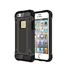 TPU PC Dual Defender Shockproof Case For iPhone 5 5s SE