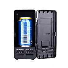 Freezer USB Mini Fridge Applicable Black Red Plastic Soda Water Mini Refrigerator Beverage Cooler And Warmer