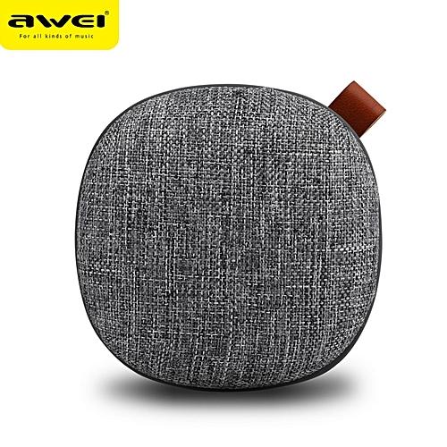 Awei Y260 V4 2 Mini Bluetooth Speaker 3D Stereo Laptop Portable Wireless  Speaker TF Card Audio USB Music Player PC Speaker(Gray)