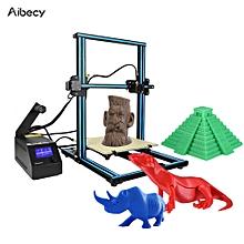 Aibecy CR-10 3D DIY Printer 300 * 300 * 400mm Print Size Aluminum Frame with 200g Filament Supports PLA/ABS/TPU/Copper/Wood/Carbon Fiber Filament
