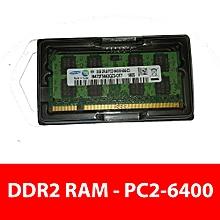 Laptop DDR2 RAM - PC2-6400 (DDR2-800 Intel Memory