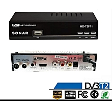 Free To Air Digital Decorder Full HD 1080P With USB