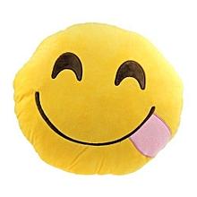 Unique Smiley Throw Pillow