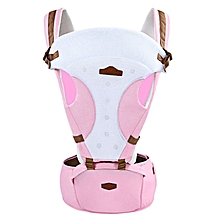 Comfortable Breathable Multifunction Carrier Baby Hip Seat - Pink
