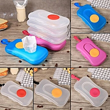 Portable Plastic Baby Travel Wet Wipes Box #1