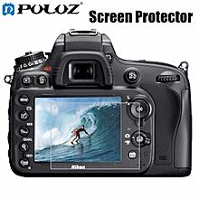PULUZ 2.5D Curved Edge 9H Surface Hardness Tempered Glass Screen Protector for Nikon D500 D600 D610 D7100 D7200 D750 D800 D810