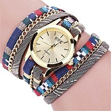 Olivaren  CCQ Women Fashion Casual Analog Quartz Women  Watch Bracelet Watch /Multicolor