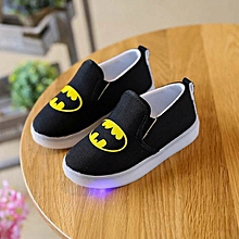 Batman themed boys led shoes