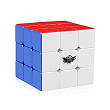 3x3x3 Speed Cube Stickerless Magic Cube Puzzles Toys 56mm - Mixed Color