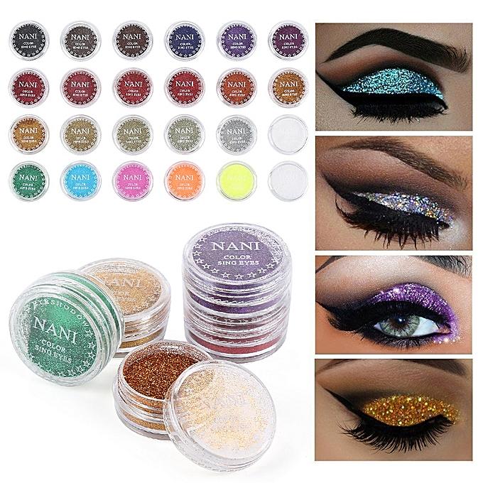 Helpful 24 Colors Eye Shadow Makeup Powder Monochrome Eye Shadow Powder Baby Bride Make Up Shine Powder Pearl Powder Tslm1 Eye Shadow
