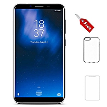 S8 4GB + 64GB, 5.7inch screen, 16MP + 13MP+5MP, Android 7.0 with finger print scanner -Silver.