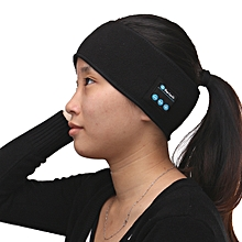 141983482579 Bluetooth Stereo Headphone Sports Headset Wireless Headband w/Mic for iPhone 7 -black
