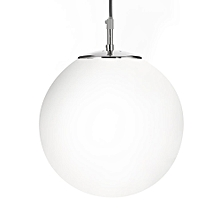 Searchlight Atom Pendant Light with Opal Glass 12 Inch