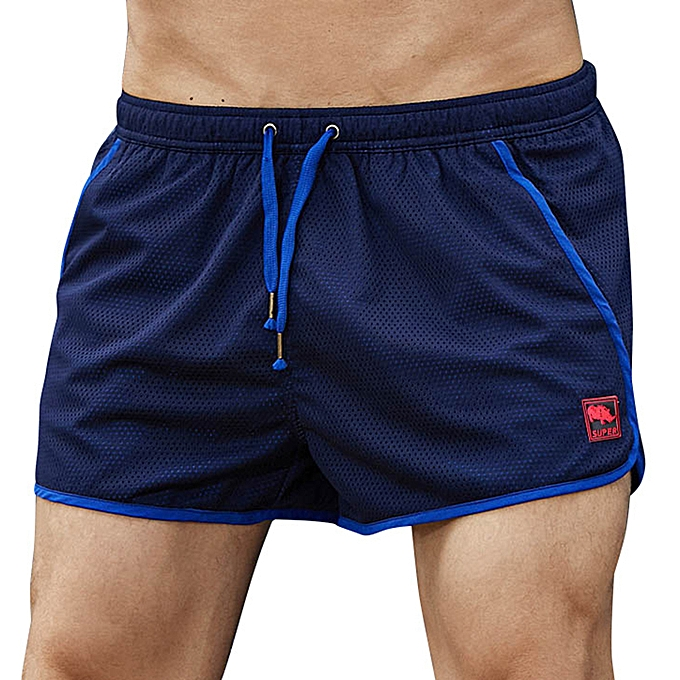 58a6a82805 Fashion Mens Fashion Mesh Quick Drying Comfortable Sport Board Beach ...