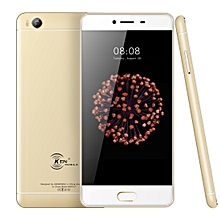 KEN XIN DA V7, 2GB+16GB, Fingerprint Identification, 5.0 inch Android 6.0 MTK6735 Quad Core up to 1.5GHz, Network: 4G, Dual SIM(Gold)