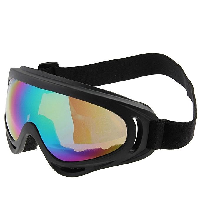 f1c9779791e8 ... Windproof Anti-dust Goggles   Snowboard Goggles With Strap Leash ...