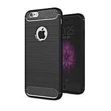 iPhone 6Plus 6sPlus Case, Ultra-thin Brushed Carbon Fiber Slim Armor Soft TPU Phone Back Full Cover Case For Apple iPhone 6 Plus / 6s Plus