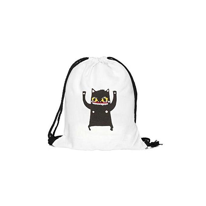 Buy Neworldline Unisex Graffiti Backpacks 3d Printing Bags