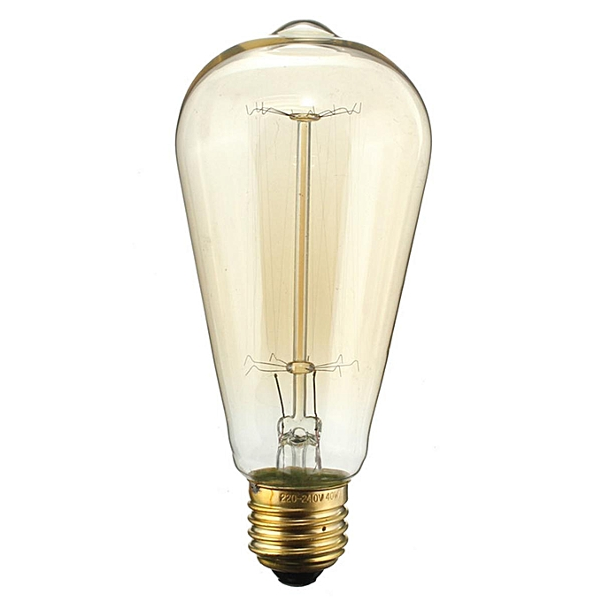 E27 60W Incandescent Bulb 110 220V Retro Edison Style Light