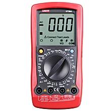UT58A LCD Digital Multimeter Handhold Test Device - Red + Black