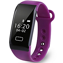 K18S - Smart Bracelet Heart Rate IP65 Reminder For Android IOS - Purple