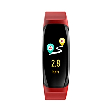 MK04 Smart Watch Color Screen Waterproof Heart Rate Monitor Fitness Tracker red