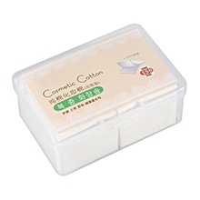 150PCS Cosmetic Cotton Pads Facial Makeup Wipes Tips Remover & Box
