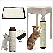 44*30CM Pet Cat Kitten Corner Wall Scratcher Scratching Sisal Post Board Mat Pad Toys