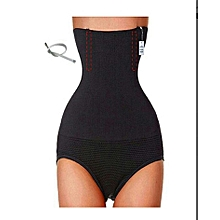 Slimming Panty Tummy Tucker Corset Shapewear - Black