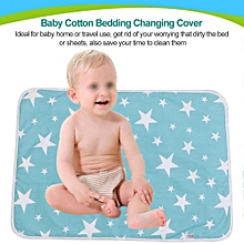 Baby Cotton Urine Mat Diaper Nappy Bedding Changing Cover Pad C