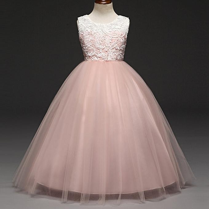 Buy Fashion Children Dresses For Girls Kids Formal Wear Princess ...