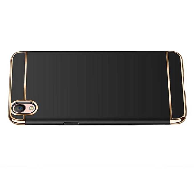 ... For OPPO A37 Phone Case Tempered Glass OPPO A37 Ultra Thin Chromed 3in1 Hybrid