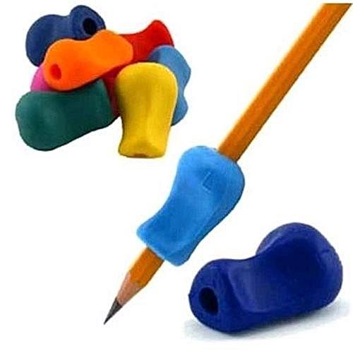 Eleganya 1PC Uesful Kids Soft Silicone Writing Handwriting Pencil Pen Grip  beneficial