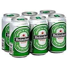 Lager Beer 24 Cans - 500ml