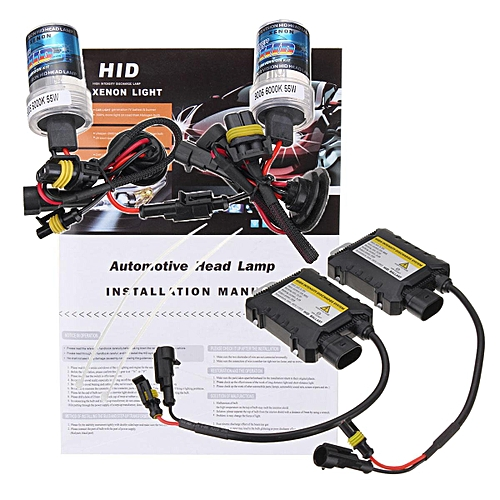 generic 9006 55w hid xenon headlight conversion kit bulbs light lamp  4300k/6000k/8000k 【4300k】