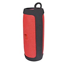 Silicone Wireless Bluetooth Speaker Cover Case Bag Protect For JBL Charge3 -Black