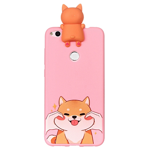 online retailer a77b5 9aeee Huawei P8 Lite (2017) Phone Case, Soft Silicone Slim Flexible 3D Cartoon  Animal Super Cute TPU Painted Pattern Case Cover for Huawei P8 Lite  (2017)/P9 ...