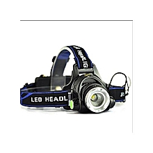 UNIVERSAL LED Headlamp XM-L T6 Zoomable Rechargeable Headlight  with charger and batteries