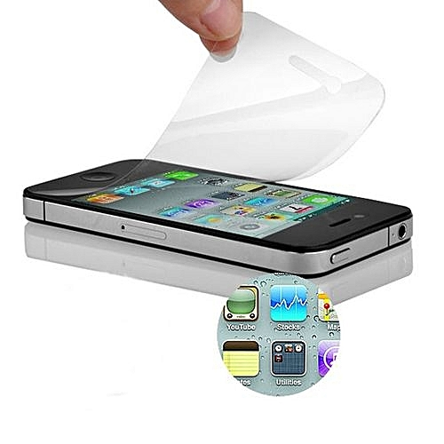 Neworldline 3x (Front+Back) Clear Screen Protector Guard Film For IPhone 4  4G 4S-Clear ddc5f9b281