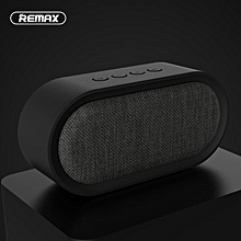 REMAX M11 Portable Fabric Bluetooth 4.2 Speaker with Microphone Support TF Card/AUX-in-Black WWD