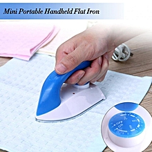 Portable Handheld Mini Clothes Iron Temperature Control For Household Travel Use